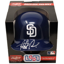 Fernando Tatis Jr. Signed Autographed Padres Mini Batting Helmet JSA Auth