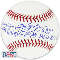 "Fernando Tatis Sr. Cardinals Signed ""Grand Slam"" Major League Baseball JSA Auth"