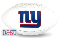New York Giants NFL Signature Series Licensed Official Football - Full Size