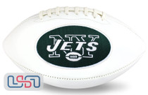 New York Jets NFL Signature Series Licensed Official Football - Full Size