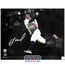 Jose Altuve Astros Signed Autographed 16x20 Photograph Photo JSA Auth #2