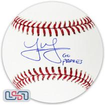"Joe Musgrove Padres Signed Autographed ""Go Padres"" Major League Baseball USA SM"