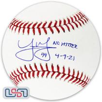 "Joe Musgrove Padres Signed Autographed ""No Hitter"" Major League Baseball USA SM"