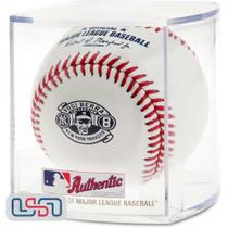 Yogi Berra Old Timers Day Official Rawlings Baseball New York Yankees - Cubed