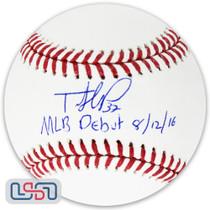 "Teoscar Hernandez Blue Jays Signed ""MLB Debut"" Major League Baseball USA SM"
