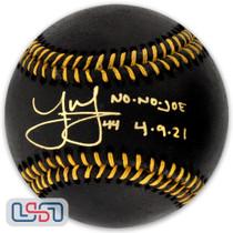 "Joe Musgrove Padres Signed ""No No Joe"" Black Major League Baseball USA SM"