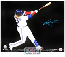 Vladimir Guerrero Jr. Blue Jays Autographed 16x20 Photograph Photo JSA Auth #9