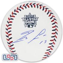 Ronald Acuna Jr. Atlanta Braves Signed 2021 All Star Baseball JSA Auth