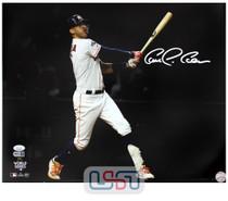 Carlos Correa Astros Signed Autographed 16x20 Photo Photograph JSA Auth #25