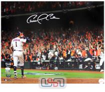 Carlos Correa Astros Signed Autographed 16x20 Photo Photograph JSA Auth #27