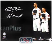 Jose Altuve Carlos Correa Astros Signed 16x20 Photo Photograph JSA Auth #28