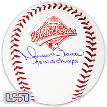 "Mariano Rivera Yankees Signed ""96 WS Champs"" 1996 World Series Baseball JSA Auth"