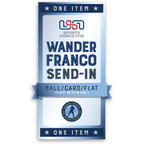 Wander Franco Private Signing Autograph Send-In (Ball/Card/Flat)