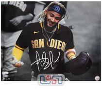 Fernando Tatis Jr. Padres Signed Autographed 16x20 Photo Photograph JSA Auth #17