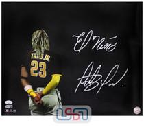 "Fernando Tatis Jr. Padres Signed ""El Nino"" 16x20 Photograph Photo JSA Auth #18"