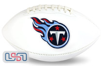 Tennessee Titans NFL Signature Series Licensed Official Football - Full Size