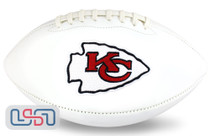 Kansas City Chiefs NFL Signature Series Licensed Official Football - Full Size (New Logo)