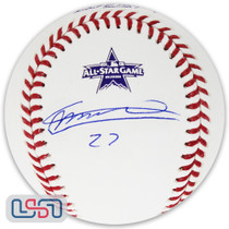 Vladimir Guerrero Jr. Blue Jays Signed 2021 All Star Baseball JSA Auth