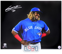 Vladimir Guerrero Jr. Blue Jays Autographed 16x20 Photograph Photo JSA Auth #19
