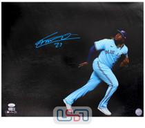 Vladimir Guerrero Jr. Blue Jays Autographed 16x20 Photograph Photo JSA Auth #22