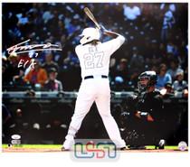 "Vladimir Guerrero Jr. Blue Jays Autographed ""El K"" 16x20 Photograph JSA Auth #14"