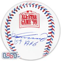 "Vladimir Guerrero Expos Signed ""1st ASG"" 1999 All Star Game Baseball JSA Auth"