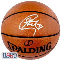 Stephen Curry Warriors Autographed Authentic Spalding NBA Basketball USA SM Auth