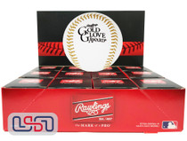 (12) Rawlings Official MLB Gold Glove Award Commemorative Baseball Boxed - Dozen