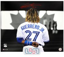 Vladimir Guerrero Jr. Blue Jays Signed Autographed 16x20 Photo JSA Auth #7
