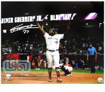 Vladimir Guerrero Jr. Blue Jays Autographed 16x20 Photograph Photo JSA Auth #15