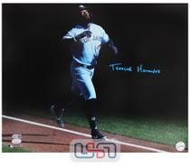 Teoscar Hernandez Blue Jays Signed Full Name 16x20 Photograph JSA Auth #33