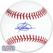 Jasson Dominguez Yankees Signed Autographed Major League Baseball MLB Auth