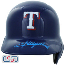 Adrian Beltre Signed Autographed Texas Rangers Full Size Batting Helmet JSA Auth
