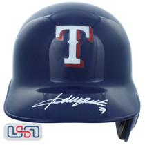 Adrian Beltre Autographed Texas Rangers Full Size Batting Helmet JSA Auth