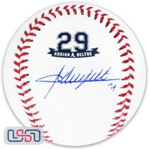 Adrian Beltre Signed Autographed Texas Rangers #29 Retirement Baseball JSA Auth