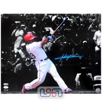 Adrian Beltre Rangers Signed Autographed 16x20 Photo Photograph JSA Auth #5
