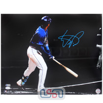 Wander Franco Rays Signed Autographed 16x20 Photo Photograph JSA Auth #9