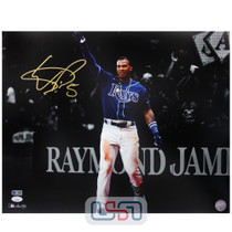 Wander Franco Rays Signed Autographed 16x20 Photo Photograph JSA Auth #11