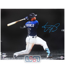Wander Franco Rays Signed Autographed 16x20 Photo Photograph JSA Auth #13