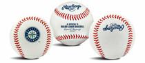 Seattle Mariners Rawlings Team Logo MLB Replica Autograph Baseball