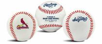 St. Louis Cardinals Rawlings Team Logo MLB Replica Autograph Baseball