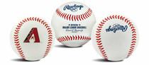 Arizona Diamondbacks Rawlings Team Logo MLB Replica Autograph Baseball