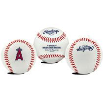 Los Angeles Angels Rawlings Team Logo MLB Replica Autograph Baseball