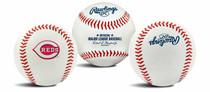 Cincinnati Reds Rawlings Team Logo MLB Replica Autograph Baseball