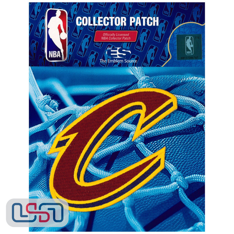 Cleveland Cavaliers NBA Official Licensed Alternate Team Logo Iron Sewn Patch