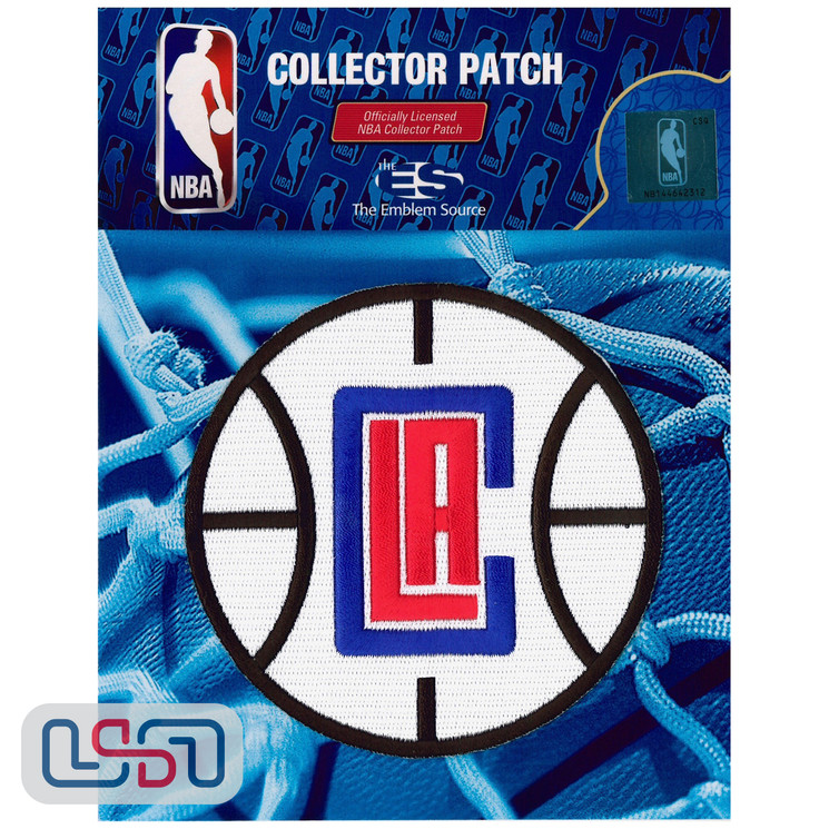 Los Angeles Clippers NBA Official Licensed Alternate Team Logo Iron Sewn Patch