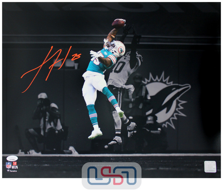 Xavien Howard Dolphins Signed Autographed 16x20 Photo Photograph JSA Auth