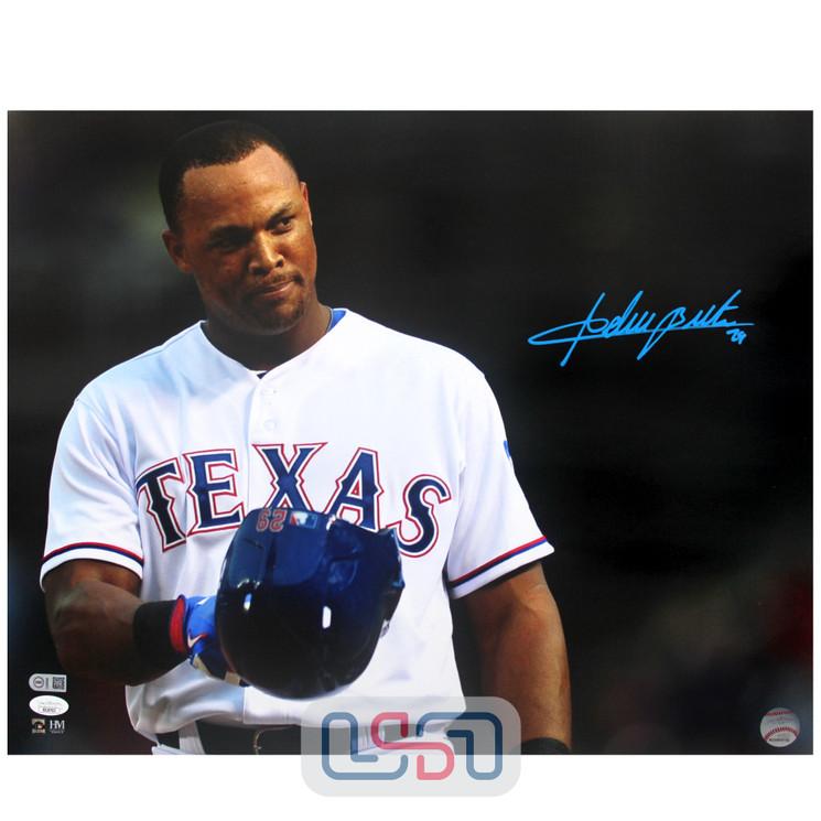 Adrian Beltre Rangers Signed Autographed 16x20 Photo Photograph JSA Auth #6