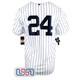 Gary Sanchez #24 New York Yankees White Home Pinstripe Men's Nike Jersey NWT