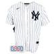 Derek Jeter #2 New York Yankees White Home Pinstripe Men's Nike Jersey NWT